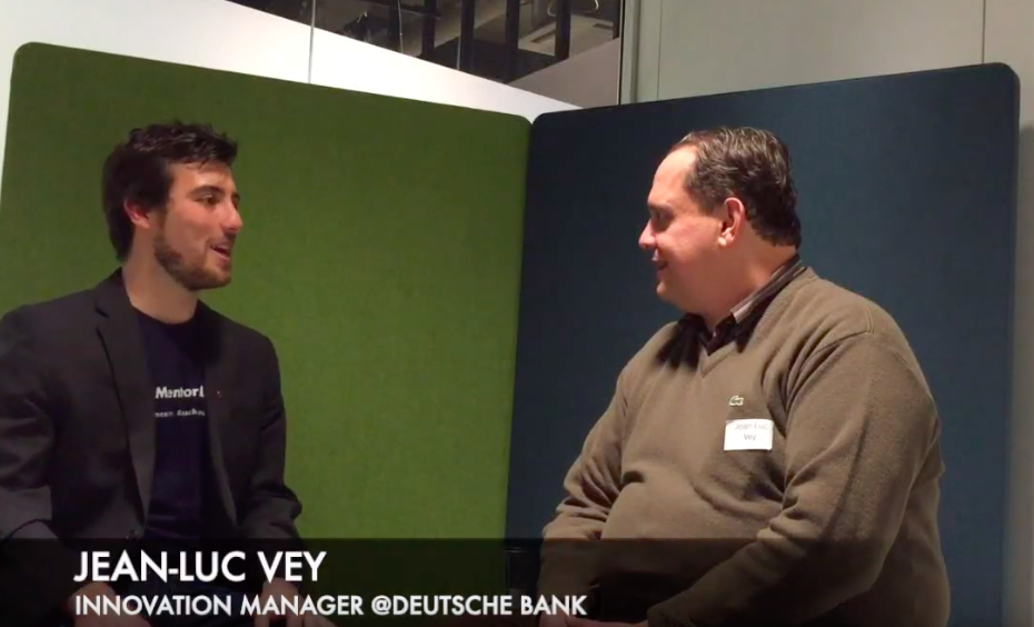 Mentor-Interview mit Jean-Luc Vey, 12.11.2018